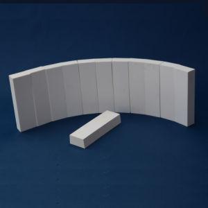 Fodera di ceramica dell'allumina resistente all'uso per la conduttura (92% 95% Al2O3)