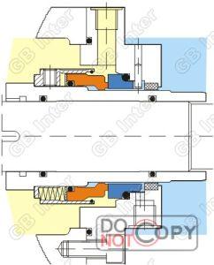 A vedação mecânica