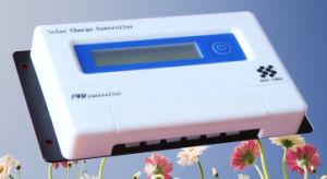 30A ЖК-дисплей солнечной энергии контроллера заряда топлива