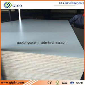 E0 de 18mm blanco de titanio de la Junta de melamina para muebles