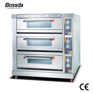 De in het groot Oven van de Pizza van het Dek van de Apparatuur van de Machine van het Baksel voor Bakkerij met 3decks 9trays