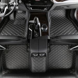 Stuoie di cuoio accessorie dell'automobile di slittamento del nero 5D dell'automobile all'ingrosso anti