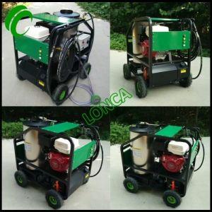 De industriële Wasmachine Met motor van de Hoge druk van de Machine van de Benzine van de Stoom Schonere Openlucht Schonere