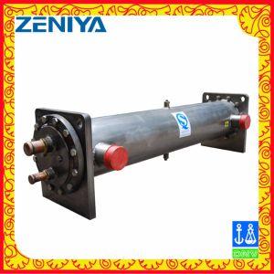 空気調節のためのシェルそして管の熱交換器