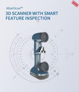 Scanner trattato multifunzionale del laser 3D di controllo di risoluzione di qualità di alta esattezza del foro dell'istantaneo di bloccaggio del grado industriale astuto di tecnologia