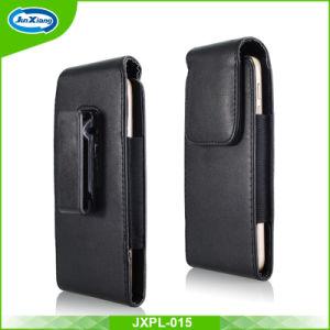 AppleのiPhone 6のための革水平ベルトクリップホルスターの旋回装置の袋の箱4.7のインチ