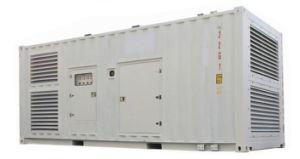 ディーゼル機関の無声容器の発電機セット