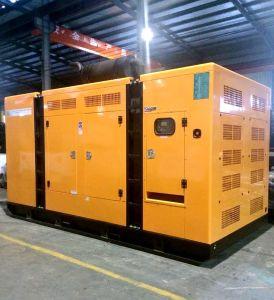 Kanpor neuester leiser Generator-einfacher verschobener Schlussteil-Typ 2017 des Entwurfs-200kVA 160kw DieselGenset angeschalten von Deutz