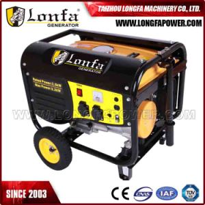 2KW de Potência 6.5HP Home gerador de gasolina / Conjunto de Gerador a gasolina