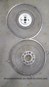 Griglia del ventilatore di scarico dell'aria dell'acciaio inossidabile del collegare/riparo del ventilatore/coperchio di ventilatore rotondi