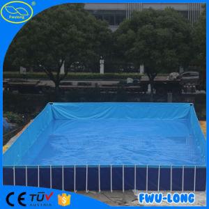 Zwembad van het Frame van het Staal van de Grootte van de lage Prijs het Aangepaste