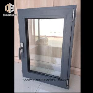 Salto térmico en color negro de la ventana de aluminio