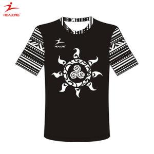 Healong t-셔츠를 인쇄하는 최고 판매 운동복 형식 디자인 승화