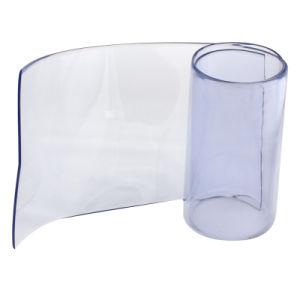Acero inoxidable sistema fijo para el titular de la péndola cortina de tiras de PVC
