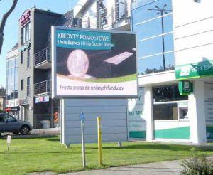 L'extérieur de la publicité pleine couleur Grand affichage LED