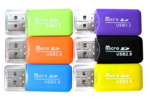 USB 2.0 haute vitesse TF T-lecteur de carte mémoire Flash, /Carte Micro SD Reade Ypf48