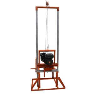 Portable pequenos motores a gasolina dobrável de perfuração de poços de água para Uso Familiar