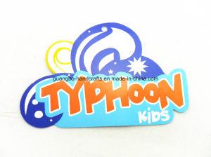 Accesorios de ropa de diseño personalizado insignia de dibujos animados Los niños Hang Tags