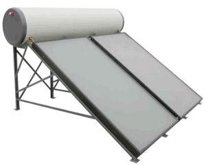 Ce de Panel Plano calentador de agua solar presionado alto 300L