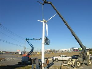 5KW na grade de sistema de Turbinas Eólicas
