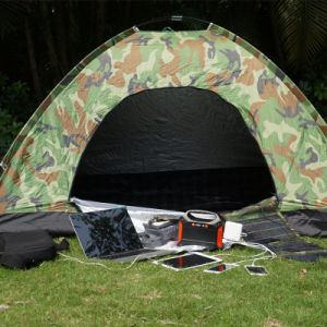 Generador Inverter 100W de energía de respaldo portátil ideal para Camping Caravaning