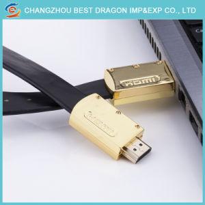 Goldenes HD 4K 60Hz 2160p HDMI Kabel 2.0 mit Ethernet für HDTV DVD PSP3000