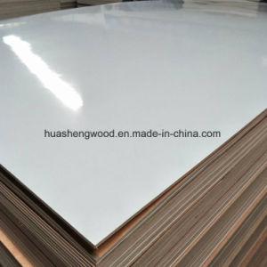 1,6Mm-3mm papel Flor superpuesto en poliéster enfrentan el contrachapado de madera contrachapada/.