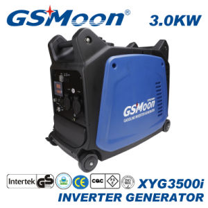 L'essence 3.0kVA Générateur Inverter avec démarreur électrique et de la télécommande