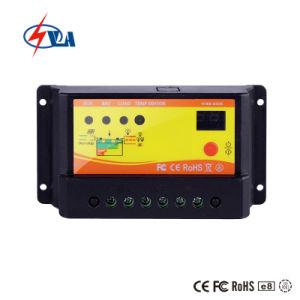 Aprobación CE PWM micro controlador de carga solar