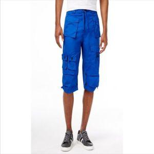 2016 Shorts del carico di volo della Multi-Casella degli uomini blu degli uomini