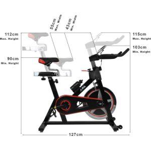 Bicicleta de exercício Spin Bike Home Use equipamento de fitness (AM-S4000N)