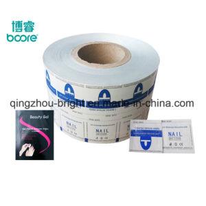 El papel impreso el papel de aluminio Envases rodillo para la almohadilla de removedor de uñas