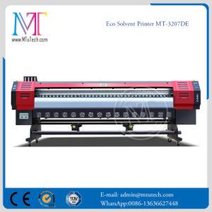 Inyección de tinta de impresora de gran formato digital con originales Epson DX5 impresora solvente ecológica del cabezal de impresión