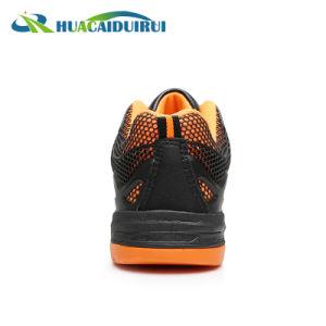 Verano naranja Smash Anti obrero Zapatos de seguridad