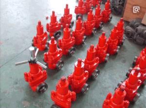 Spec. 6A Demco della valvola a saracinesca/tubo Valve/API del fango/valvola di Cameron Frac, valvola a saracinesca ad alta pressione del fango di FC in valvola a saracinesca manuale o idraulica del giacimento di petrolio,