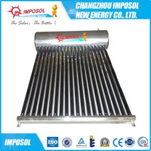アルミ合金の炎が付いているNon-Pressurized太陽給湯装置