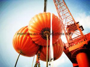 Saco de pesos de água para acostar Crane e testes de carga