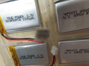 3.7V 1300mAh 추적자를 위한 재충전용 리튬 중합체 건전지 팩