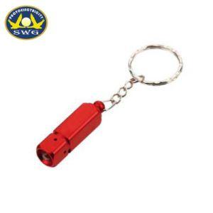 熱い販売安いアルミニウム小型LED Keychain