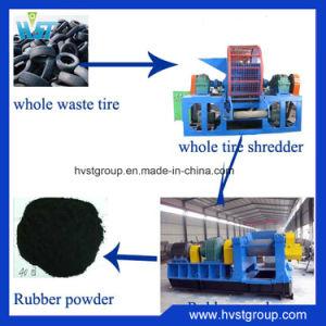 De gebruikte Machines van het Recycling van de Band voor RubberPoeder