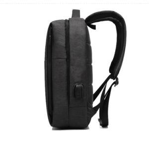 Nuevo diseño Nij Iiia chalecos 2018 Nuevos Negocios de la mens bolsas para portátiles Mochila 15.6 pulgadas con un cargador USB
