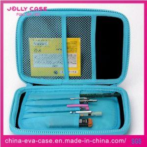 Geval van het Potlood van de Kantoorbehoeften van EVA van de Hardtop van de Douane van China het Beste Blauwe