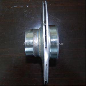 Roestvrij staal Impellers met The External Diameter van 168mm