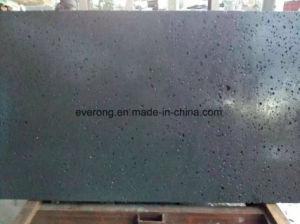 Pedra Azul/ Andesite natural/pedra de lava Hainan em basalto cinza/preto para a piscina