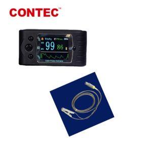 Sonde van de van Hoofd contec Cms60c Transmissie van de Gegevens de Externe van de Dierenarts in Impuls de In real time Oximeter van de Vinger van 20 Jaar van de Vervaardiging van China