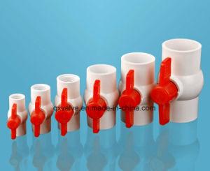 Válvula de bola PVC 1/2 pulgada de abastecimiento de agua para uso agropecuario