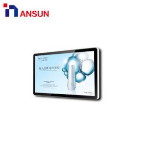 Экономичный настенный кронштейн для установки внутри помещений альбомная ориентация ЖК-экране рекламы для использования внутри помещений