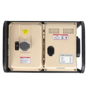 5kwディーゼル携帯用発電機を(三相)維持すること容易