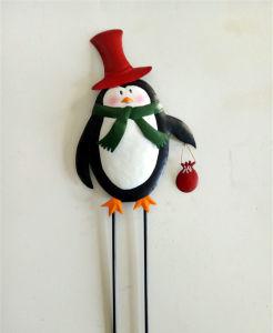 Decoratie van de Werf van de Vakantie van Kerstmis van de Staken van de Tuin van het Rendier van het metaal de Openlucht