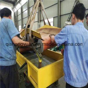 A linha de produção de pó de borracha dentro do recipiente de Carga